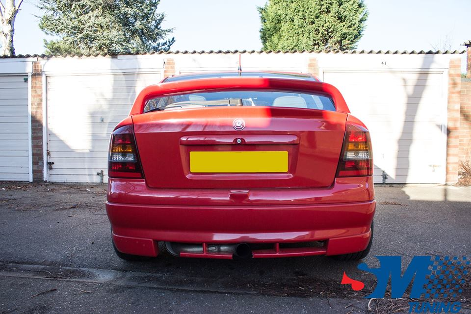 Vauxhall Astra SRi Turbo tuned in Peterborough.