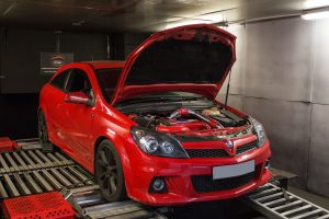 Vauxhall Astra VXR tuned on the rolling road.