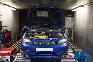 Vauxhall Astra Z20LET 888 tuned on the rolling road