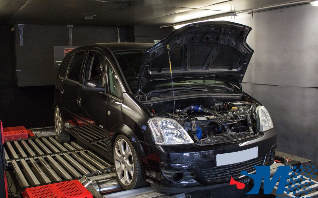 Vauxhall Meriva Z20LET tuned on the rolling road