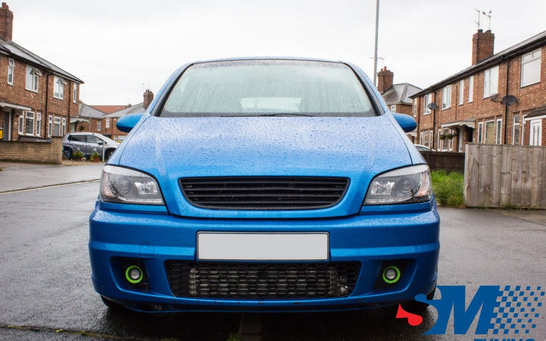 Vauxhall Zafira GSi tuned in Beverley, East Yorkshire