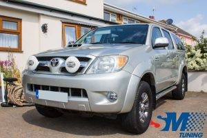 Toyota Hilux 3.0 D4-D tuned in Clacton on Sea, Essex