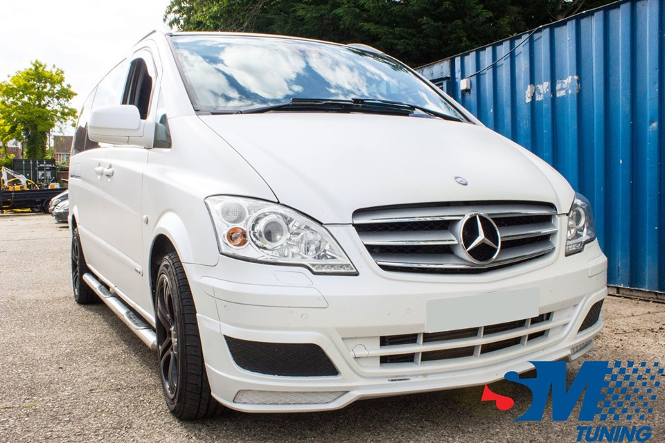Mercedes (Brabus) Vito 3.0 V6 CDi tuned in Chelmsford, Essex.
