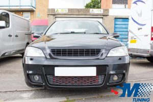Vauxhall Astra SRI Turbo tuned in Portsmouth
