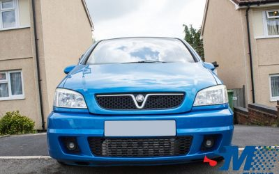 Vauxhall Zafira GSi tuned in Cannock, West Midlands