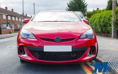 Vauxhall Astra J VXR tuned in Doncaster