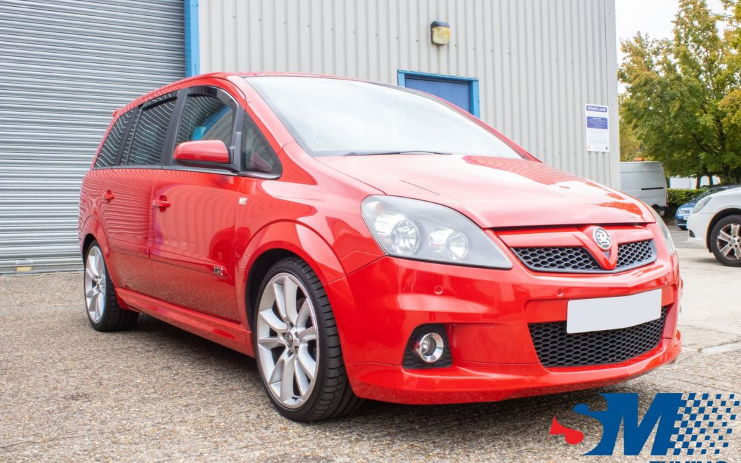 Vauxhall Zafira VXR tuned in Bletchley