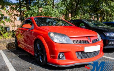 Vauxhall Astra VXR tuned in Burnley, Lancashire