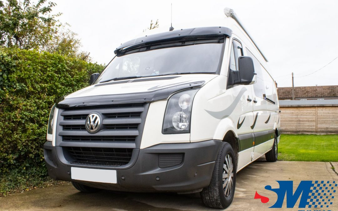 Volkswagen Crafter 2.5 TDi tuned in Silsoe