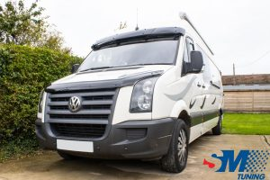 Volkswagen Crafter 2.5 TDi tuned in Silsoe, Bedfordshire