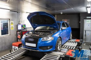 Audi S3 2.0 TFSi tuned on the rolling road