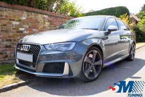 Audi RS3 2.5 TFSi tuned in Reading, Berkshire.