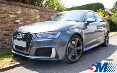 Audi RS3 2.5 TFSi tuned in Reading, Berkshire