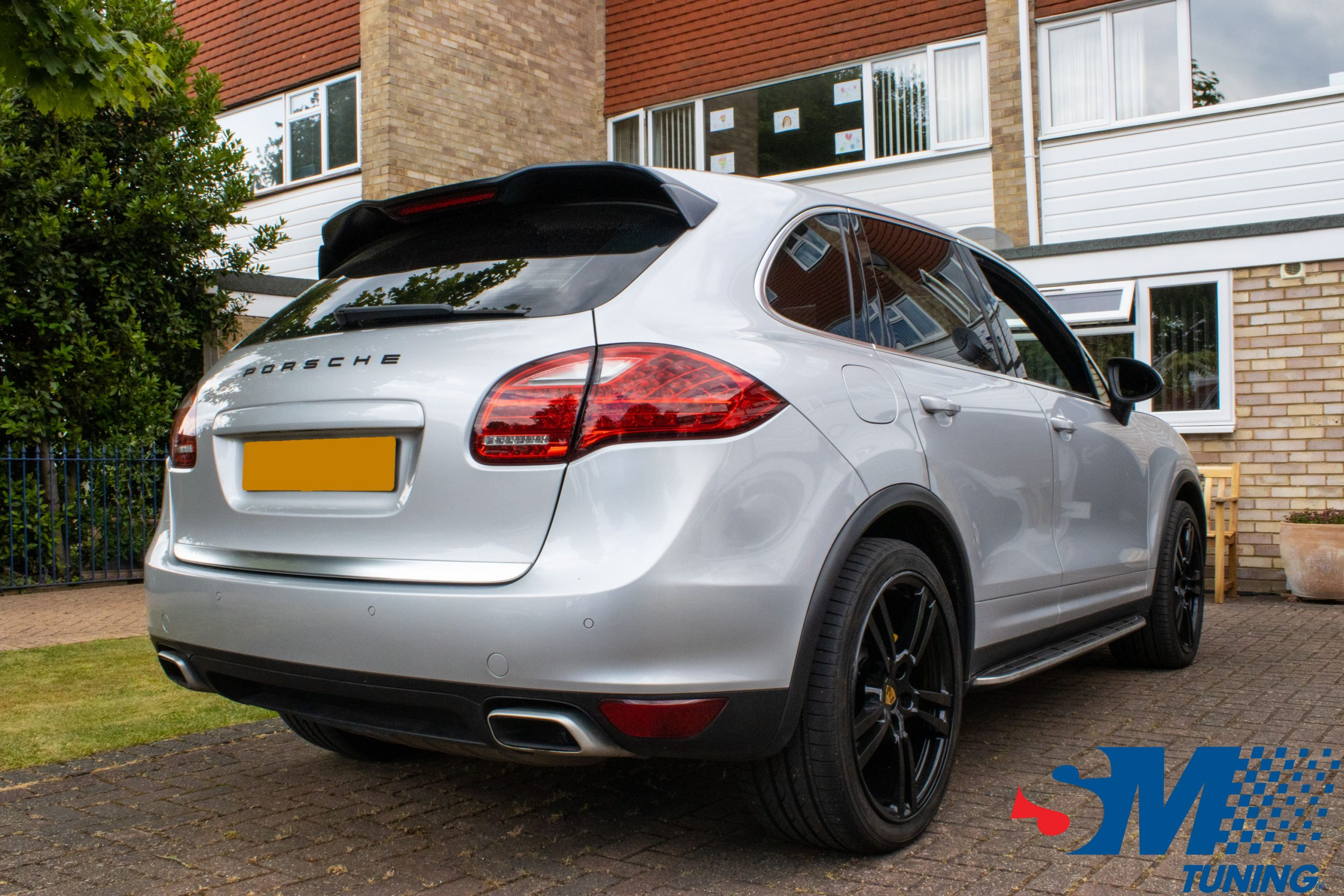 Porsche Cayenne 2011 3.0 V6 TDi tuned in Windsor, Berkshire.