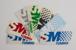 SM Tuning Stickers