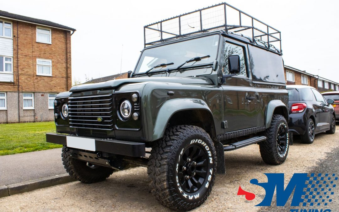 Land Rover Defender 2.5 TD5 tuned in Hitchin, Hertfordshire