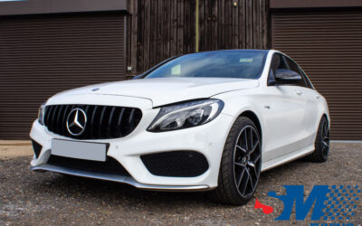 Mercedes C43 AMG 3.0T tuned in Chelmsford, Essex